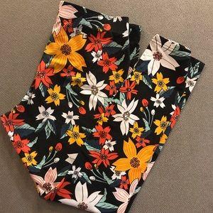 Nike Leggings Floral size XL